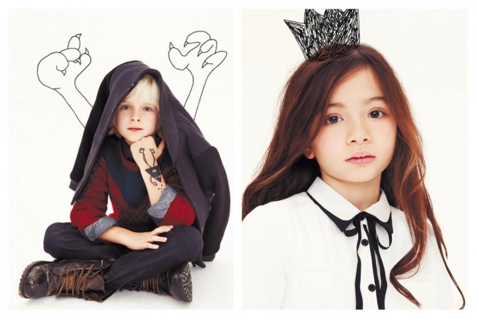 Модные бренды детской одежды