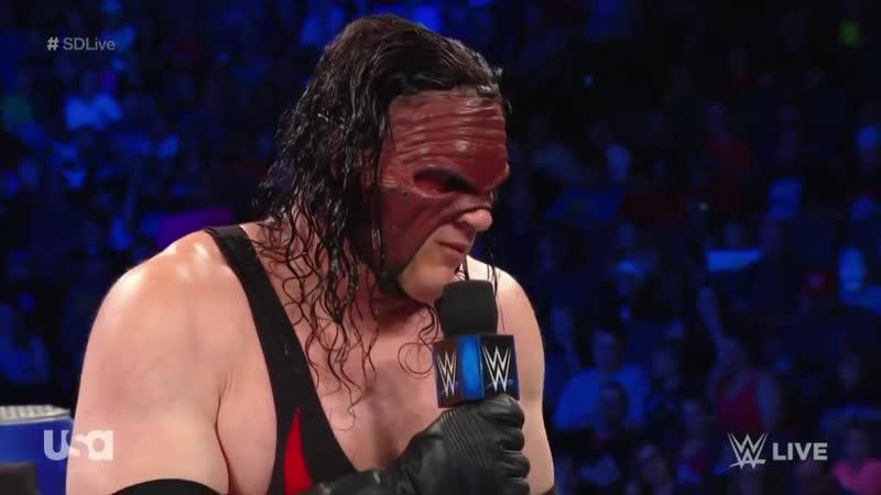 Сегмент Кейна с Браяном SmackDown 03.07.2018