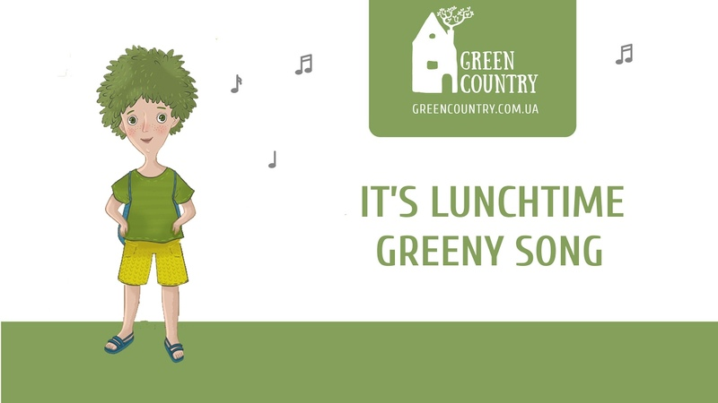 It's lunchtime Song: English with Greeny the Brownie
