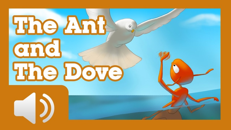 The Ant and the Dove - Fairy tales and stories for children