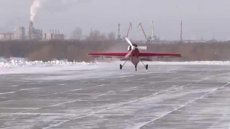 Як 18Т. Полёт над Сургутом / Yak 18T. Flight over Surgut