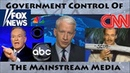 A Brief History of Government Control of the Mainstream Media Evidence Examples