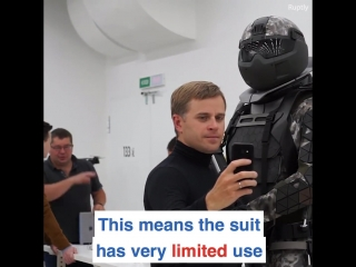 Russia - this super suit could be the soldier of the future!