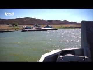 Переправа через Бухтарминское водохранилище - Курчум - ВКО