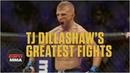 TJ Dillashaw's greatest fights | Highlights | ESPN MMA