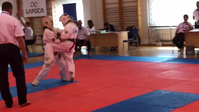Всероссийские Юношеские игры боевых искусств г Анапа 2 бой 398 номер проиграла