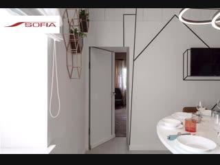 Двери в покрытии Sofia под грунт