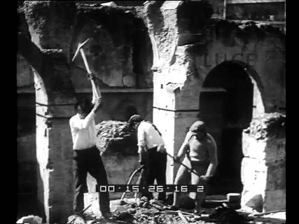 Il volto glorioso di Roma. In attesa dei restauri il Tempio di Venere viene sbarazzato e isolato.