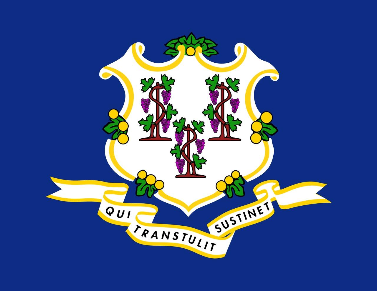 Флаг Коннектикут