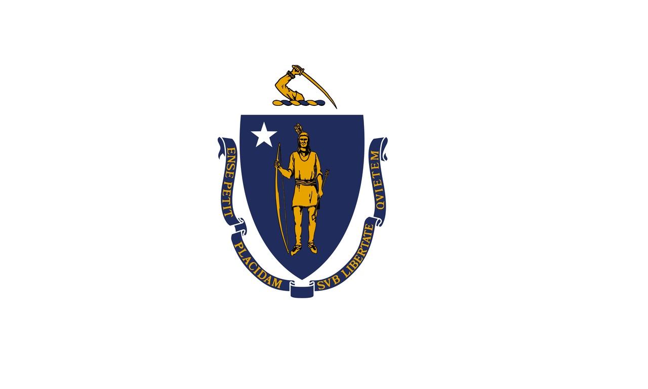Флаг Массачусетс