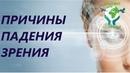 Причины падения зрения. Академия Целителей.