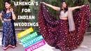 Lehenga's for Wedding, Haldi Mehndi | Indian Wedding Outfit Ideas 2018