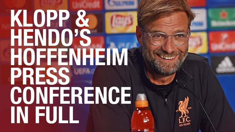 Champions League return, Coutinho update and Sturridge fitness latest | Hoffenheim press conference