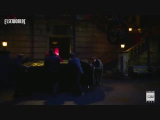 Elseworlds - behind the scenes - arkham in action - the cw