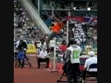 Крутой прыжок в слоумо