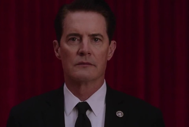 Agent Cooper in Red Room
