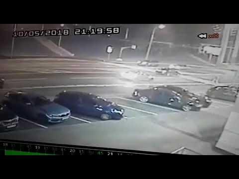 ДТП (пешеход сбит на зебре) 5 октября 2018 г. Москва, Мичуринский пр., 58. Виновник уехал!