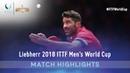 Gustavo Tsuboi vs Panagiotis Gionis | 2018 ITTF Men's World Cup Highlights ( Group )