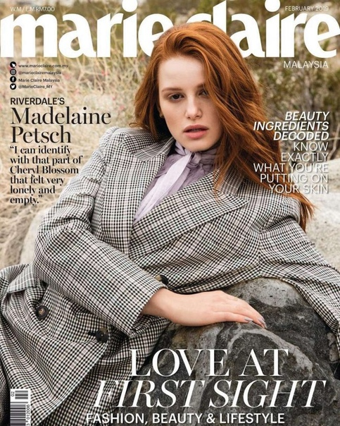 Мэделин Петш Marie Claire, Февраль 2019