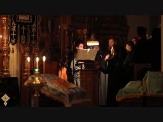 Хор братии Валаамского монастыря - Тропарь Введения во храм Пресвятой Богородицы
