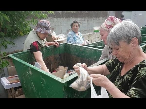 Кушать с помойки в России стало удобней !