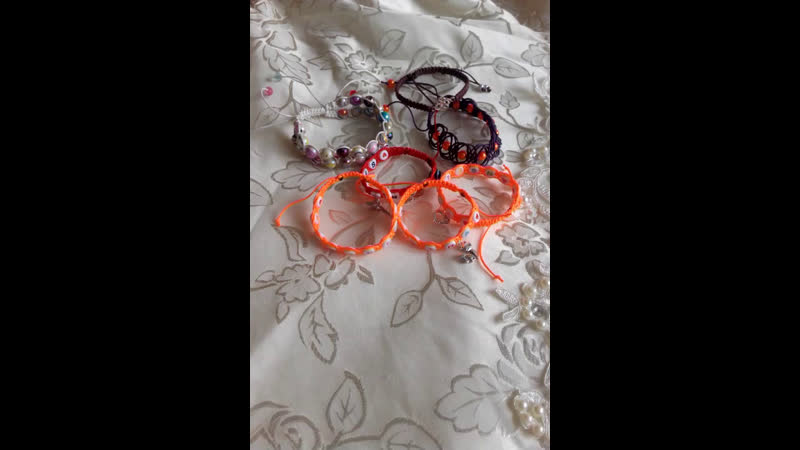 Плетеные браслеты шамбала. Обзор.
