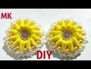 резиночки с бусинками МК новика 2018 DIY tutorial bros mutiara Cara Membuat Bros Kanzashi