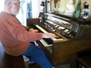 Mike Reed plays jazzy Jingle Bells on the Hammond Organ