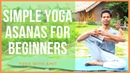 Simple Yoga Asanas for Beginner । Yoga with Amit