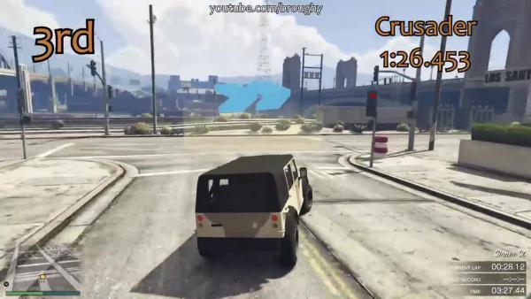 GTA Online - Самый быстрый военный транспорт