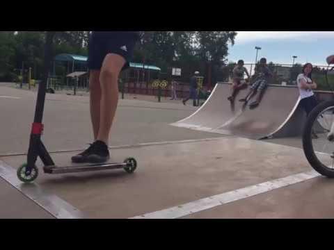 ЯЖЕМАТЬ в скейт парке г.Томск 28.06.18 .ЯЖЕБАТЯ ударил меня
