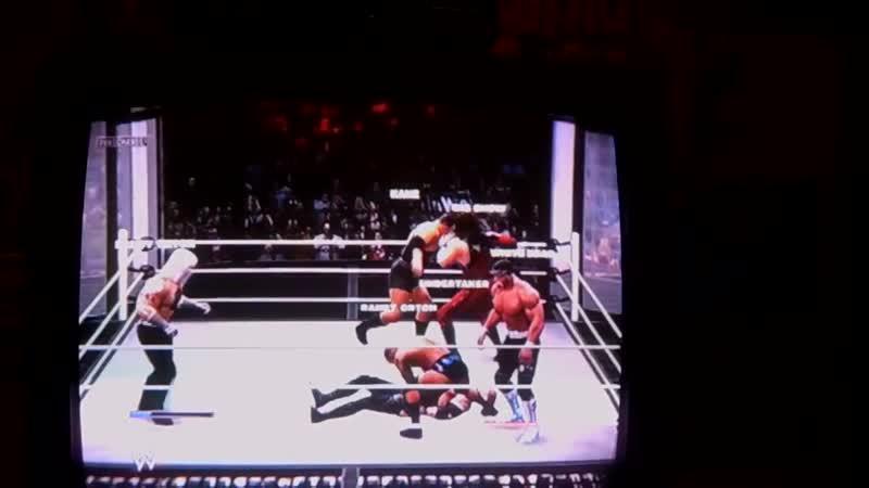 WWE2K14 Elimination chamber White Death vs Hulk Hogan vs Undertaker Vs Kane vs Orton vs Big Show.Белая Смерть.11DeadFace