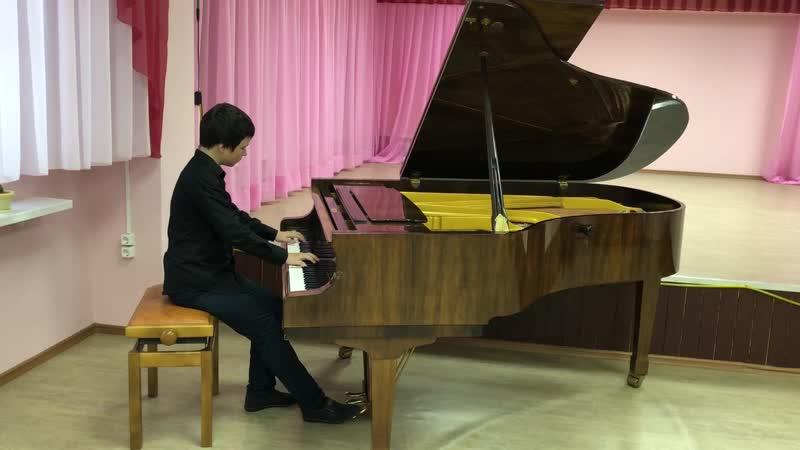 Иван Попов 5 год обучения