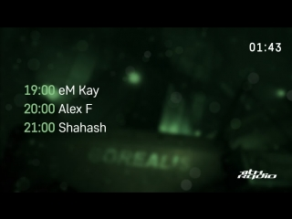 eM Kay and Alex F / Shahash - Live @ Новые Формы / Wicked Wicked (18.09.2018)