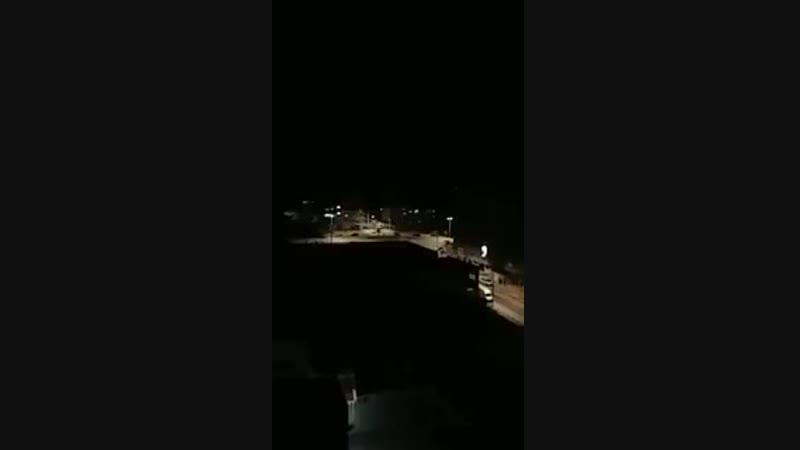 Авиаудар израильской авиации по зданию телеканала