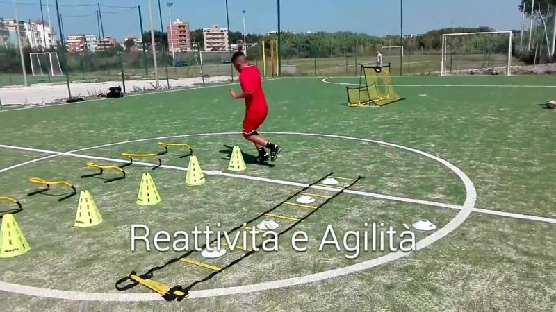 Individual Soccer Training rapidità tecnica calcio
