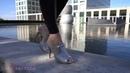 Lady Sabrina - Glitzer Heels walking