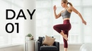 28 Day At Home Workout Challenge DAY 1 FULL BODY