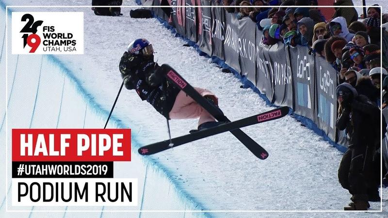Kelly Sildaru | Gold Medal | Ladies' Halfpipe | Freeski | FIS Freestyle World Championships