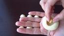ПЕЧЕНЬЕ С Арахисом Внутри в Белом Шоколаде/Cookies With Peanuts Inside in White Chocolate