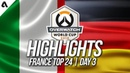 Italy vs Germany   Overwatch World Cup 2018 Paris Qualifier Day 3