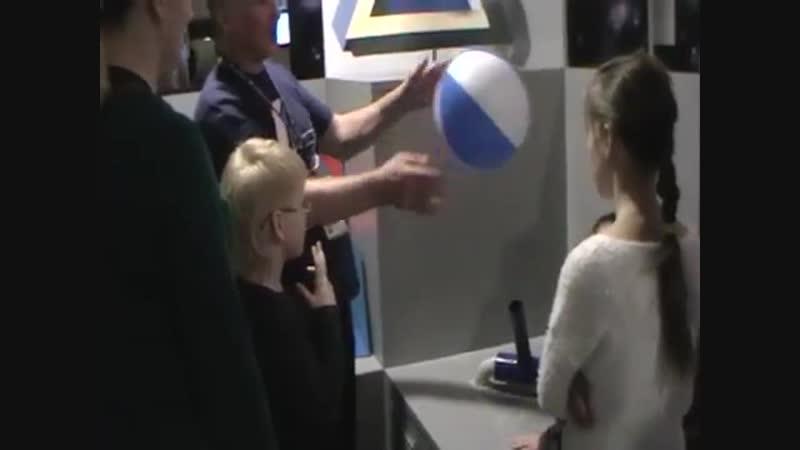 Парящий шарик Планетарий г. Москва