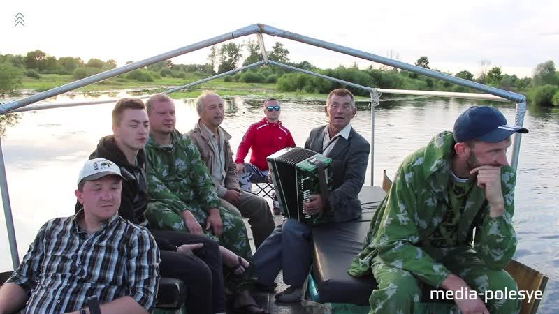 По реке Стыр с песней о бригадире