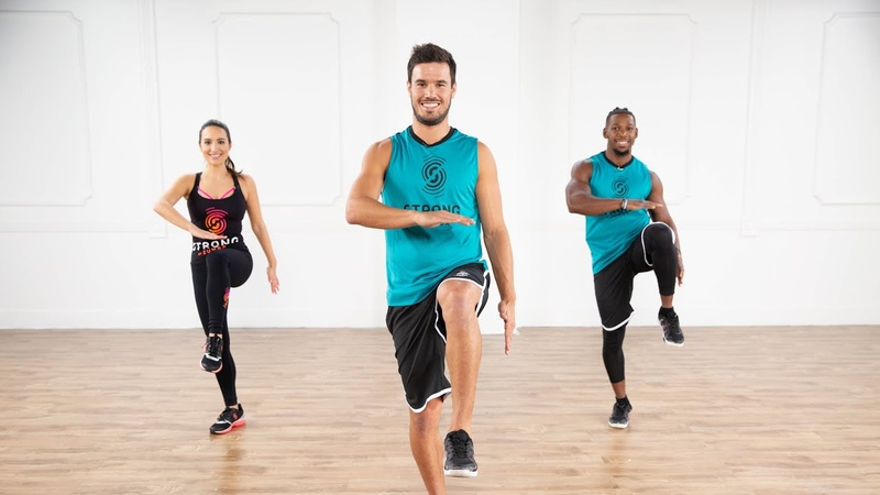 Aurelio Figari A No Equipment Glutes Workout From STRONG by Zumba It's Only 7 Minutes