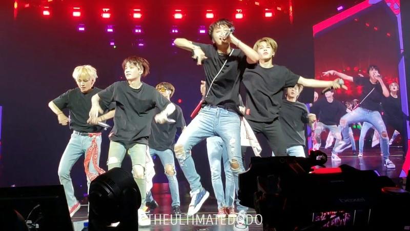 180920 Anpanman @ BTS 방탄소년단 Love Yourself Tour in Hamilton Fancam 직캠