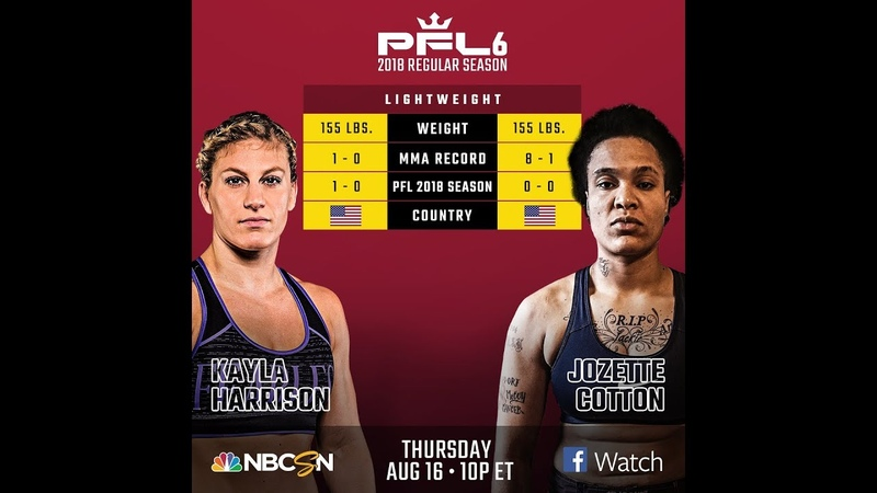 Kayla Harrison v. Jozette Cotton PFL6|FULL FIGHT