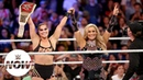The Jean Ronda Rousey wins the Raw Women's Title at SummerSlam WWE Now