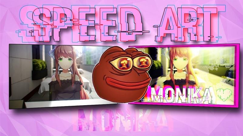 SPEED ART | MONIKA Ep.2
