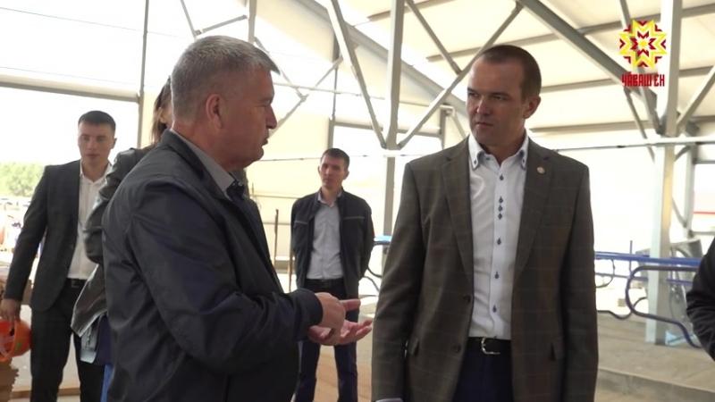 Глава Чувашии с рабочим визитом посетил Чебоксарский район