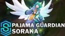 Pajama Guardian Soraka Skin Spotlight - Pre-Release - League of Legends